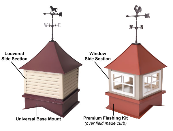 Low prices on cupola kits barn cupolas and roof cupolas for Shed cupola plans